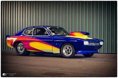 Ford Capri (technodean2000) Tags: ford capri car race santa pod drag racing nikon d610 lightroom uk