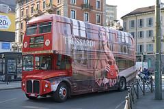 Zanni Viaggi AEC Routemaster RML2743 - Cairoli, Milan (Neil Pulling) Tags: italia milan milano lombardy lombardia routemasterrml2743routemasterrml2743london bus londonbus rml2743 aec