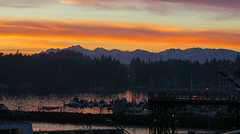 Marina (E. Hanson) Tags: sunset mountains pacificnorthwest pugetsound washingtonstate kingston