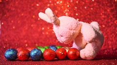 Delicious easter (YᗩSᗰIᘉᗴ HᗴᘉS +5 000 000 thx❀) Tags: haapyeaster easter rabbit lapin egg hensyasmine red color