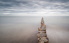 Silence (Stefan Sellmer) Tags: schleswigholstein heiligenhafen beachmotel water germany outdoor silence balticsea clouds longexposure balticcoast uww seascape seaside coast light graswarder deutschland de