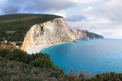Lefkada Porto Katsiki - Greece (massonth) Tags: lefkada island greece cliff white chalk turquoise sea ionian europe water beach
