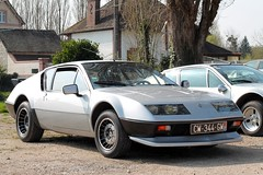 Alpine Renault A310 V6 (seb !!!) Tags: ph phase 2 ii 2017 auto automobile automovel automovil automobil berlinette coupé coach fastback canon 1100d cars anciennes ancienne old oldtimers youngtimers populaire seb france voiture wagen car coffee breuilpont française français french französisch frankreich francia frança francese francês francés photo picture foto image bild imagen imagem grise grigio gris grau gray cinza classique classic klassic