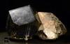 Elbaite (A Variety of Tourmaline) with Quartz  NHMLA 24473 (Stan Celestian) Tags: elbaite tourmaline quartz nhmla24473