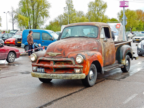 Chevrolet 3100 Stepside Pick-up Truck ½ Ton 1955 (N1702)