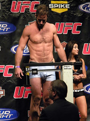 Hottest weigh-in — ever... (mike--123) Tags: mma boxers bulge ufc scruff vpl