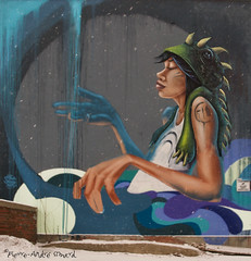 "La cascade ... ( P-A) Tags: arturbain murale artiste création animation visuelmagnifique urbain gigantesque couleur arrachant photos simpa© ""nikonflickraward"""