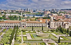 The colorful city of Lisbon (somabiswas) Tags: mosteirodosjerónimos cathedral lisbon portugal colorful travel tourism cityscape saariysqualitypictures