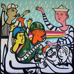 The rain Dance (MATLAKAS) Tags: rain raindance painting saatchi instart contemporaryartist venicebiennale streetart colour popart ny nyart sotheby allat art artofheday flickr flickrart artmuseum londonart matlakas riccardo attanasio moma momanew newartist