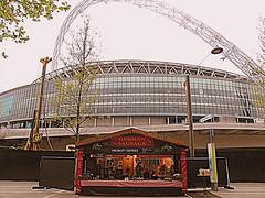 Wembley - German Sausage (che1899) Tags: wembley wembleypark wurst sausage deutsch german