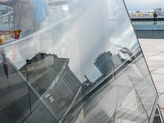 Keeping watch (neil.bulman) Tags: reichstag germany reflection dom glass modern berlin easter