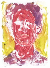 2016.01.19 Ghost of a Ghost (Julia L. Kay) Tags: juliakay julialkay julia kay artist artista artiste künstler art kunst peinture dessin arte woman female sanfrancisco san francisco sketch dibujo selfportrait autoretrato daily everyday 365 self portrait portraiture face dpp dailyportraitproject