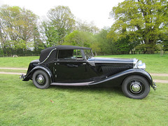 1930's Bentley convertible (Hastings Walker) Tags: 1930s automobile veteran convertible softtop ticehurst sussex