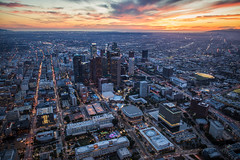 DTLA Sunset (Shabdro Photo) Tags: ©shabdrophoto dtla downtownlosangeles