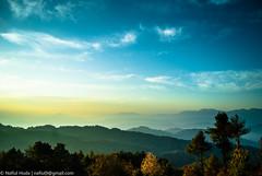 Arcadia (*Nafiul*) Tags: fog mist cloud himalayanrange sunrise nagarkot sunshine waves