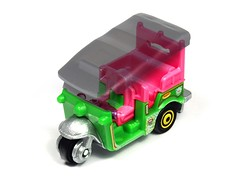 Matchbox - Tuk-Tuk (Leap Kye) Tags: matchbox 164 model scale toy car automobile vehicle collection truck armedclown309 delivery taxi tuktuk thailand vespa daihatsu southeast asia travel transport cheap fast nimble quick seethrough withouttop threewheel colorful green economical autorickshaw small land baby india vacation detachable removable top open cabriolet polution haggle convertible spider spyder exthortion daobee tri