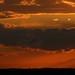 Issyk Kul, sunset. Kyrgyzstan