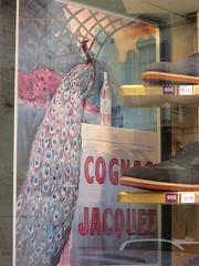 Quadrilatero della moda (quadrilatero d'Oro), Milano (Yvette G.) Tags: affiche publicité cognac cognacjacquet milan milano italie quadrilaterodoro quadrilaterodellamoda paon