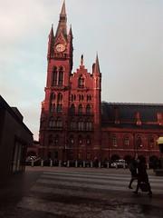 St Pancras Station. Londres (Reino Unido)