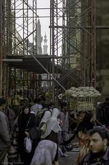 In the streets of Cairo (Svetlana Polukhina) Tags: каир египет улица толпа минарет egypt cairo street crowd bread minaret مصر القاهرة ازدحام شارع city город مدينة