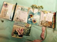 Mini flipbook (sandara333333) Tags: swapbot miniflipbook snailmail flipbook flowers washitape