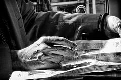 same old news (Zlatko Vickovic) Tags: streetstreetphoto streetphotography streetphotographybw streetbw streetphotobw blackandwhite monochrome zlatkovickovic zlatkovickovicphotography novisad serbia vojvodina srbija