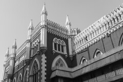 Calcutta High Court - Architecture (eneron9) Tags: bengal kolkata calcutta court judge juirisdiction judicial highcourt architecture gothic style design blackandwhite art arch imperial history old historical britishempire british india colonialism