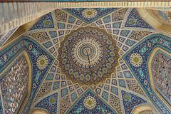 Ispahan, detail of Iwan, Iran. (TournicO) Tags: iran mosq mosquée espahan religious building kit lens sony fe