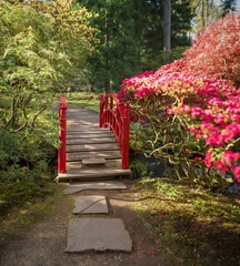 Rode brug (sylvia@flikkert) Tags: rodebrug redbridge nederland thenetherlands clingendael thehague denhaag japansetuin japanesegarden bokehpanorama
