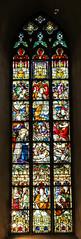 Fenster Christi Geburt - in der Laurentius Kirche in Warendorf (Heidi St.) Tags: chorfenster fenster glasmalerei kirche kirchenfenster laurentius laurentiuskirche warendorf