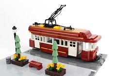 Faithful Trolley (David FNJ) Tags: absbuild trolley tram lego tramway streetcar
