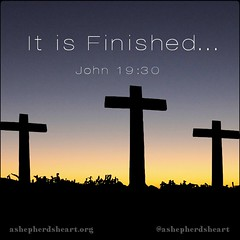 """It is Finished...  After this, Jesus, knowing that all was now finished, said (to fulfill the Scripture), """"I thirst.""""  A jar full of sour wine stood there, so they put a sponge full of the sour wine on a hyssop branch and held it to his mouth. When Jesus (ashepherdsheart) Tags: goodfriday truth victoryoverdeathandsin buried faith ashepherdsheart scripture soul christian heart life godsword christfollower jesus bible mind easter roseagain notaboutthebunniesandeggs strength christianity wisdom hope resurrectionsunday crucified"""