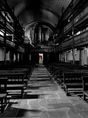 (MAGGY L) Tags: dmcfz200 cutout églises vierge aisle bancs pews galeries orgue paysbasque artreligieux architecture