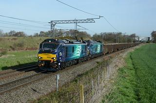 88002 and 68025 Daresbury 03/04/2017