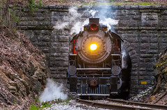 (i nikon) Tags: southern railway 4501 sou missionary ridge tunnel chattanooga tn steam