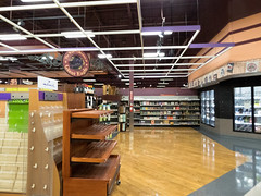 The Wine Collection... (Nicholas Eckhart) Tags: america us usa columbus ohio oh retail stores hilliard former closed empty closing gianteagle supermarket groceries interior