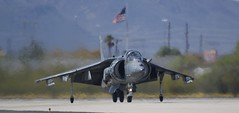 AV-8B Harrier II  DMAFB Az (air one delta) Tags: av8 harrier jumpjet jet airplane plane flying vtol dmafb tucson usmc
