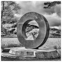 Park Memorial, Rowardennan (wwshack) Tags: balmaha lochlomond lochlomondnationalpark rowardennan scotland stirling