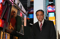 Leoba, just another day in Times Square (LEOBA Puthenthope - New York) Tags: puthenthope leobhavan trivandrum newyorkmalayalee manhattan timessquare educator departmentofeducation researchscholar corporatefinance