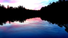 Twilight. (Papa Razzi1) Tags: 8995 2017 099365 sweden april spring lake lilac reflection calm still forest xperiax