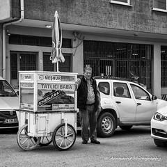 Street 269 (`ARroWCoLT) Tags: mirrorless streetphotography sokak nxmini white man oldman people blackwhite bw art insan human arrowcolt monochrome 17mm f18 bnwdemand bnwpeople bnw bnwstreet ishootpeople bokeh dof blackandwhite outdoor streetvendor dessert