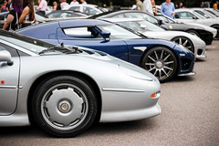 1994 Jaguar XJ220, 2008 Koenigsegg CCX, 2005 Koenigsegg CCR. (dementedb43) Tags: 1994 jaguar xj220 2008 koenigsegg ccx 2005 ccr 2016 icons by the lake virginia water supercar exotic 700d 50mm hypercar