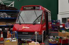 IMGP9112 (Steve Guess) Tags: cobham lbpt brooklands weybridge byfleet surrey england gb uk museum bus optare metrorider display