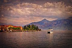 Lake Como near Menaggio (Kalev Vask.) Tags: digital kalevvask postprocessed photoshop photoart creative italy spring lakecomo on1 menaggio textured