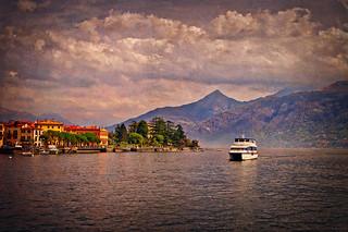 Lake Como near Menaggio