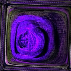 Vers un autre monde - To another World (Emmanuelle Baudry - Em'Art) Tags: art artwork abstract artsurreal artnumérique abstrait artdigital artfantasy dark digitalart rêve dream vision vortex tourbillon mauve violet purple dimension surréalisme surreal emmanuellebaudry emart carré squared square