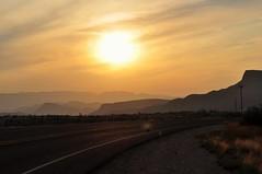 Lajitas Sunset (lostinokay) Tags: color sunset bigbend texas lajitas