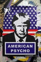 American Psycho (duncan) Tags: trump donaldtrump streetart shoreditch subdude americanpsycho