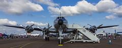 Lockheed L-1049F Super Constellation - 6 (NickJ 1972) Tags: raf fairford royalinternationalairtattoo riat airshow 2013 aviation lockheed l1049 constellation hbrsc starofswitzerland breitling