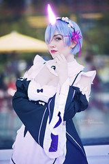 Oni Rem - Re:Zero (Lyon Hart Photography) Tags: rem rezero re zero maid anime animematsuri matsuri animematsuri2017 texas houston cosplay cosplayer cosplaygirl cosplayphotography cosplayphotoshoot waifu kawaii cute